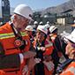 Fundición de Enami inició obras para reducir emisiones