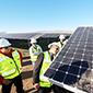 Avanza construcción de parque solar que alimentará al Metro de Santiago