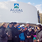 Aguas Andinas inauguró estanques de emergencia que aumentan autonomía de servicio