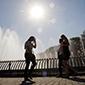 Informe climático dice que a 2050 temperatura en Santiago subirá 2,7°C