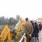 Presunta contaminación en aguas del Toltén tras colapsar puente ferroviario