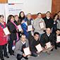 Comerciantes leñeros de O'Higgins reciben certificación en producción limpia