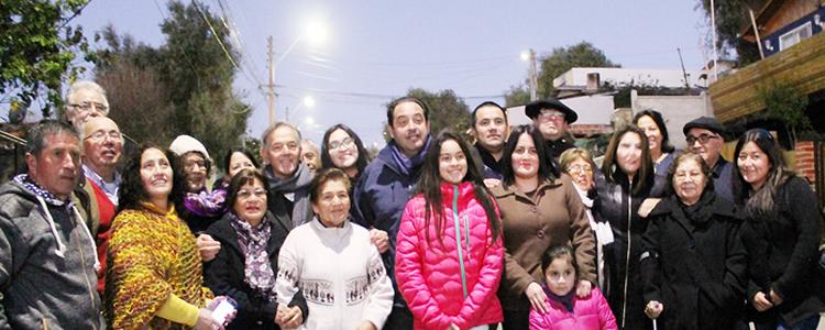 Casi 3.000 luminarias eficientes se inauguran en El Quisco