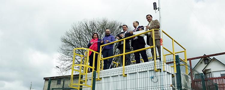 Inauguran segunda estación de monitoreo en Los Ríos