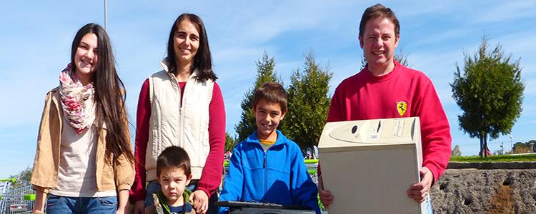 Realizan campaña de reciclaje electrónico en Chicureo