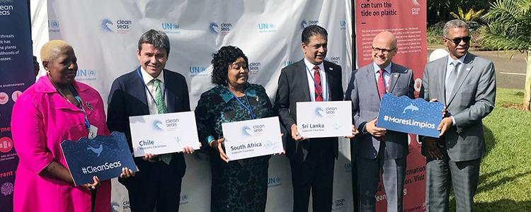 Chile se une a la campaña #MaresLimpios para combatir la contaminación de los océanos
