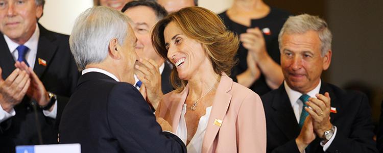 Marcela Cubillos asumirá el Ministerio del Medio Ambiente