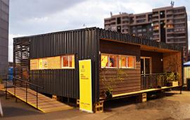 Casa sustentable con espacio para emprendimiento gana Construye Solar 2019