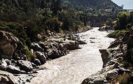 Escenarios Hídricos 2030 presentará soluciones hídricas para la cuenca del Maipo