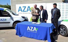 Aceros AZA suma eficiencia energética, uso de ERNC y electromovilidad