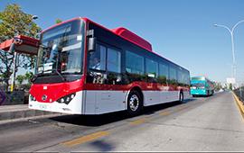 Dentro de dos meses se duplicarán buses eléctricos y ecológicos en Santiago