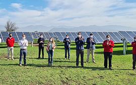 Nuevo parque fotovoltaico en Tiltil aportará 9 MW de energía limpia