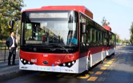 183 buses eléctricos se incorporan a la red metropolitana y con electroterminal exclusivo