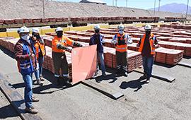 Minera El Abra realiza su primer embarque de cátodos de cobre con clasificación Copper Mark
