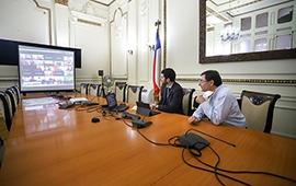 Autoridades RM escuchan recomendaciones de megaciudades sobre cómo enfrentar Covid-19