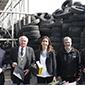 Schmidt: Empresas deberán reciclar 90% de los neumáticos que se consumen en Chile