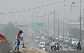 India Bajo el Smog