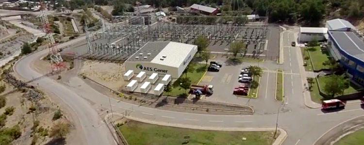 AES Gener construye sistema de almacenamiento de energía integrado a una hidroeléctrica