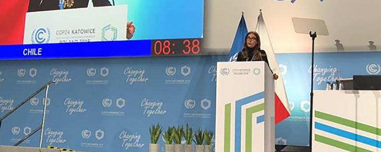 COP24: Chile se compromete a actualizar meta de reducción de emisiones