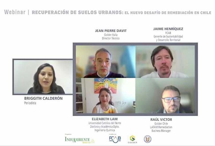 Webinar InduAmbiente presentó soluciones para remediación de suelos urbanos