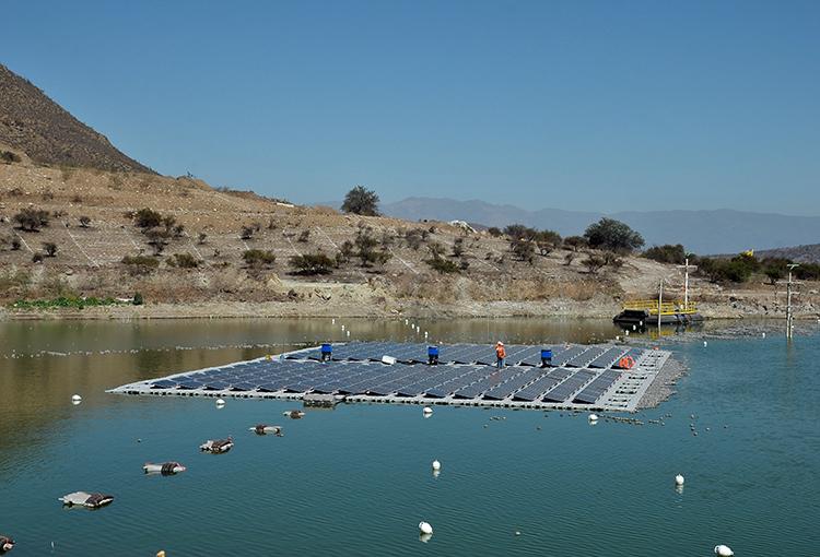 En marcha primera planta fotovoltaica construida sobre un relave minero en el mundo