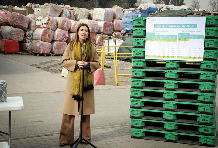 Fijan metas de recolección y valorización de envases y embalajes