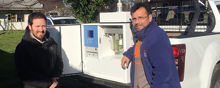 Ministerio del Medio Ambiente comenzó mediciones de calidad del aire en Puerto Varas