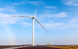 ENAP concluye montaje de aerogeneradores de nuevo parque eólico en Magallanes