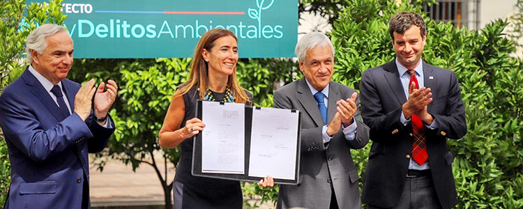 Gobierno presenta proyecto de ley sobre delitos ambientales