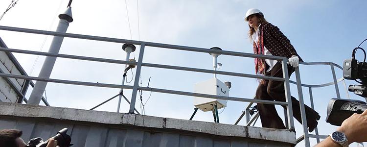 MMA traspasa nueve estaciones de monitoreo de calidad del aire al Estado