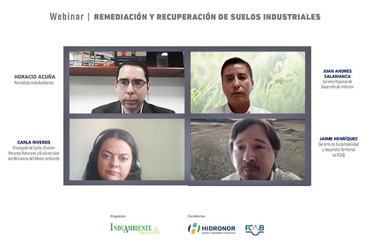 Webinar presentó soluciones de remediación y recuperación de suelos industriales