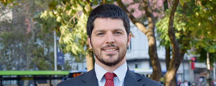 Diego Riveaux es el nuevo Seremi del Medio Ambiente en la Región Metropolitana