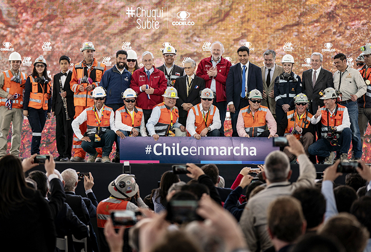 Chuquicamata Subterránea incorpora altos estándares ambientales y de seguridad