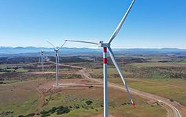 Cerca de 100 GWh/año aportará parque eólico La Estrella en la región de O'Higgins