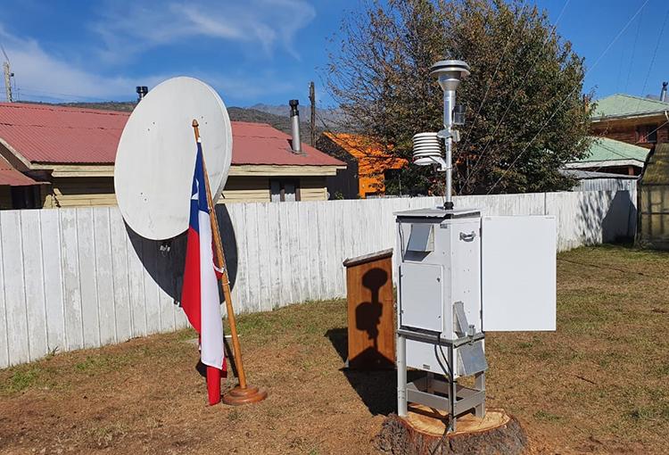 Inauguran estación de monitoreo de calidad del aire para Cochrane en la región de Aysén