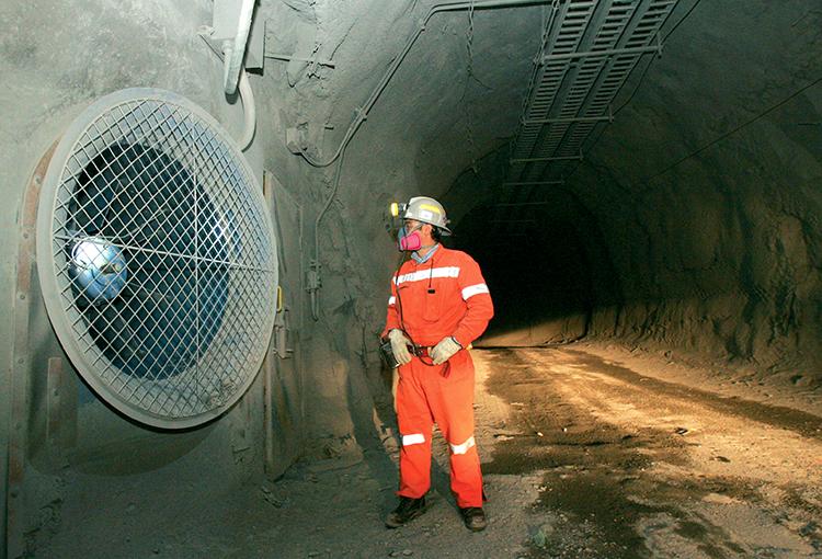 Ventilación Subterra