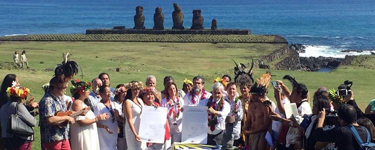 Gobierno presenta Consejo para la Administración del Área Marina Protegida de Rapa Nui