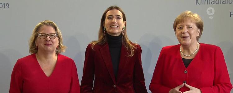 Ministra Schmidt se reúne con Angela Merkel en encuentro preparatorio de la COP25
