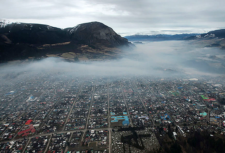 Contraloría da el visto bueno al Plan de Descontaminación para Coyhaique