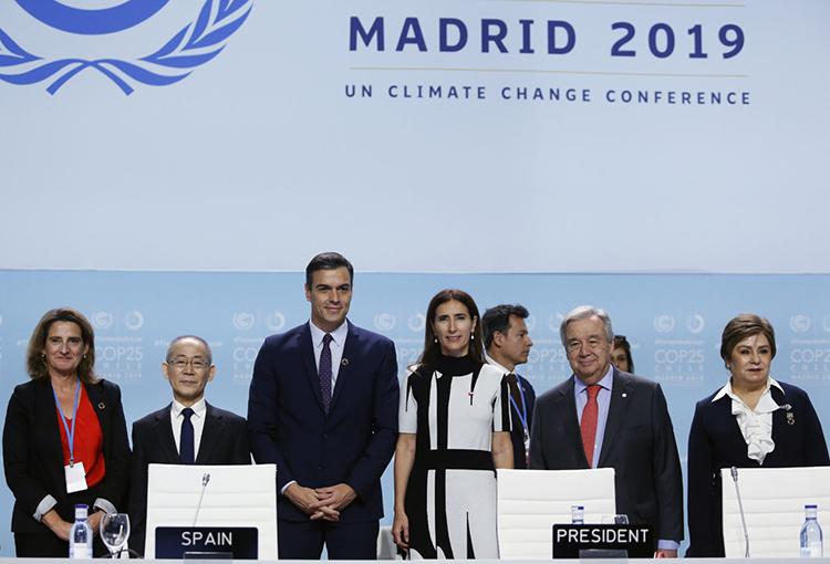 Partió la cumbre COP25 en Madrid con la participación de casi 200 países