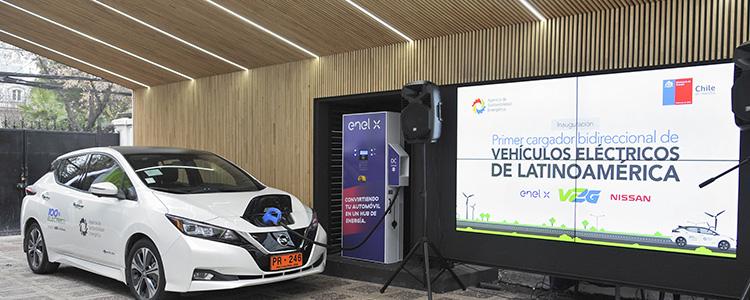 Lanzan cargador que permite a vehículos eléctricos compartir energía para otros usos