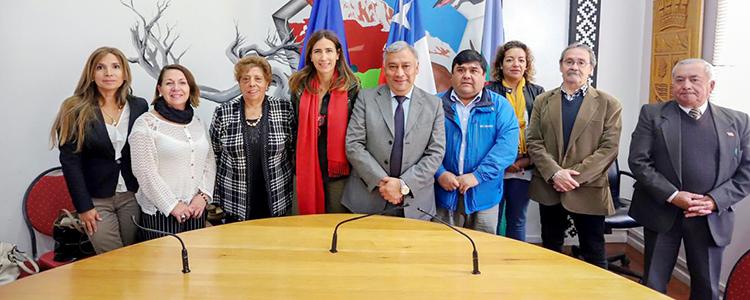 Ministros verifican en terreno avances de las medidas para descontaminar Coyhaique