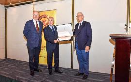 SONAMI reconoció trayectoria y aporte de InduAmbiente a la sustentabilidad minera